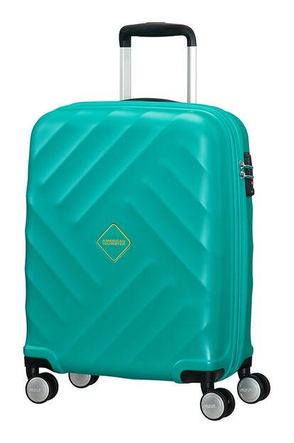 Crystal Glow Resväska med 4 hjul 55cm