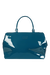 Lipault Plume Vinyle Weekend Bag M Duck Blue