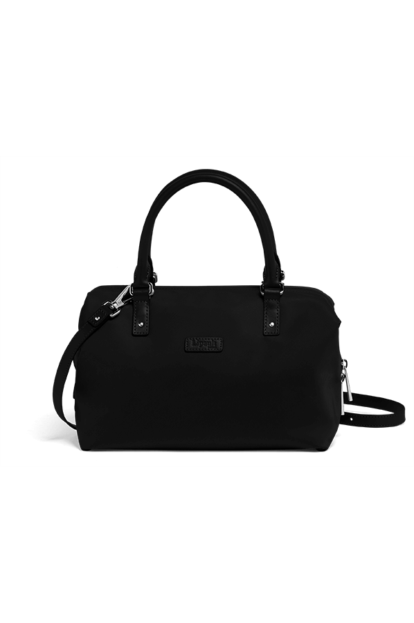 Lipault Lady Plume Bowling Bag S Black Rolling Luggage